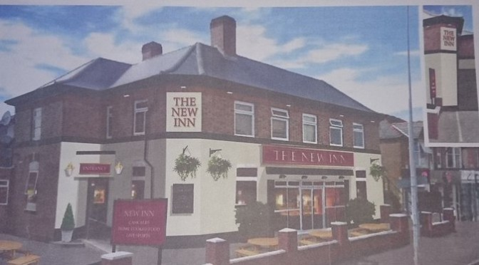 Tweet Plans for New Inn Birchgrove shared with residents…