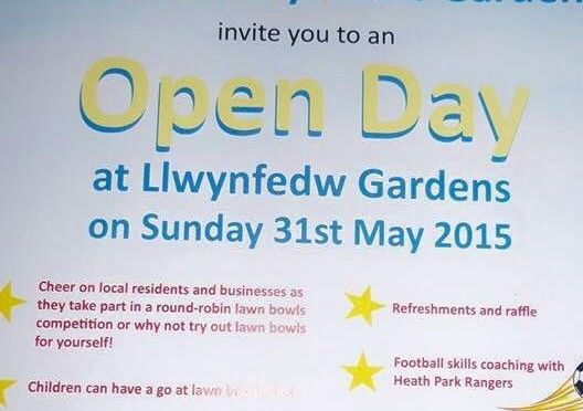 Tweet Open Day at Llwynfedw Gardens #Heath on Sunday 31s…